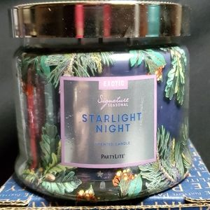 PartyLite Signature jar candle